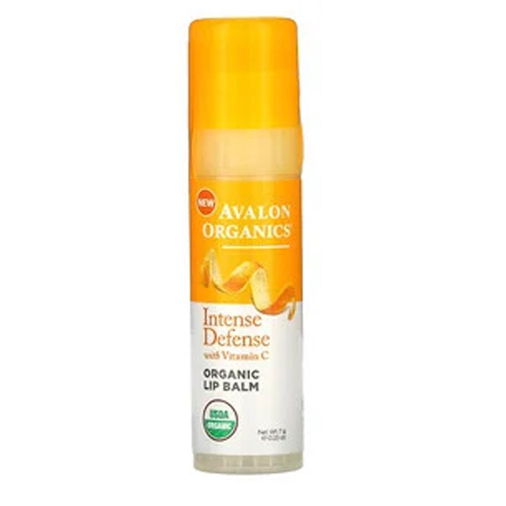 Avalon Organics Intense Defense With Vitamin C Organic Lip Balm