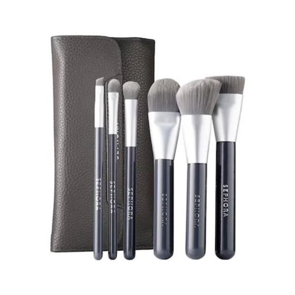 Deluxe Charcoal Antibacterial Brush Set