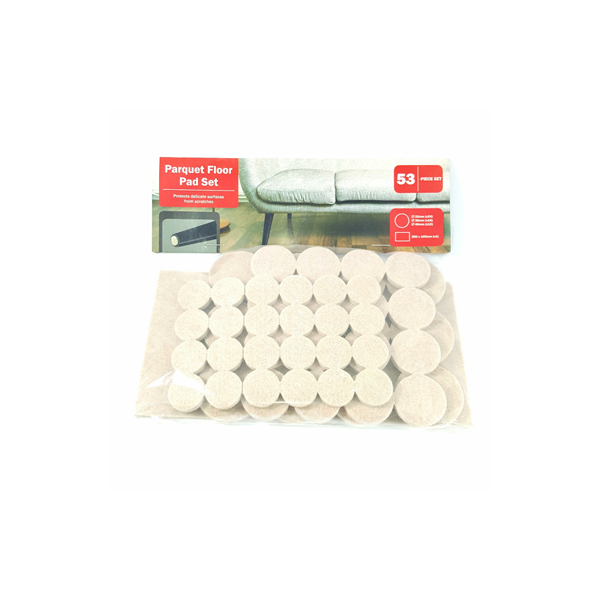 Parquet Floor Pad Set (53 Pcs Set)