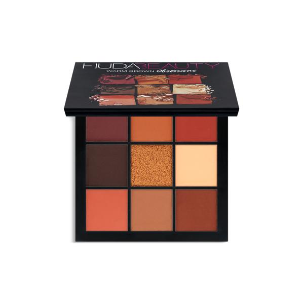 Eyeshadow Palette Huda Beauty Warm Obsessions