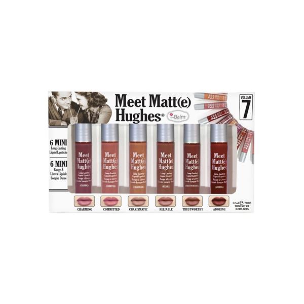 Meet Matte Hughes 6 Mini Long-Lasting Liquid Lipsticks