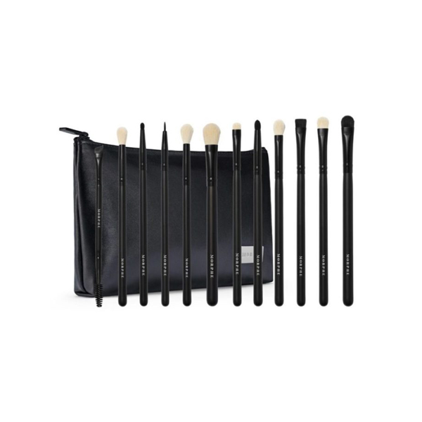 Eye Obsessed 12 Pieces Eye Brush Collection + Bag