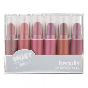 Beaulis Mini Matte Lipstick Kit (Pack Of 6) BK-523