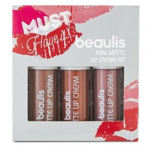 Beaulis Mini Matte Lipstick Kit (Pack of 3) BK-524