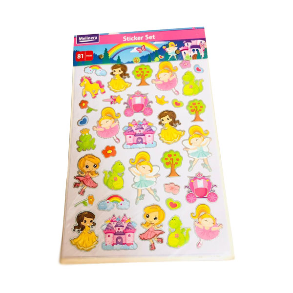 STICKER SET (81 PCS)