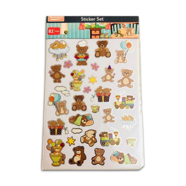 Sticker Set (82 Pcs)