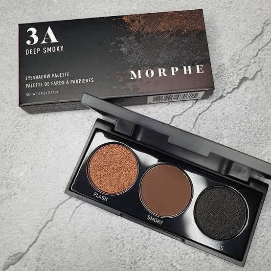 Morhphe Eyeshadow Palette 3A Deep Smoky