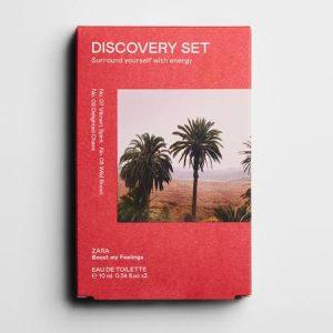 Zara Discovery Set Perfume -Sorround Yourself With Energy